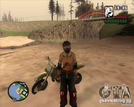 Гонщик из Fuel для GTA San Andreas второй скриншот