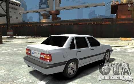 Volvo 850 Turbo 1997 для GTA 4 вид справа