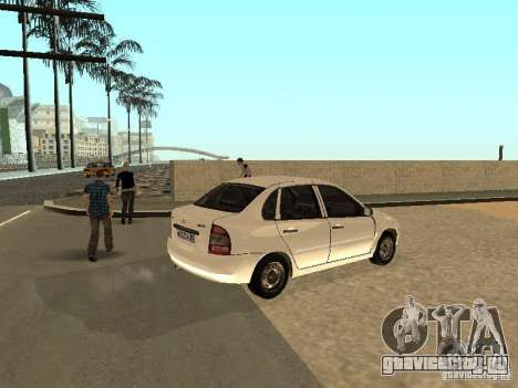 Лада Калина для GTA San Andreas вид справа