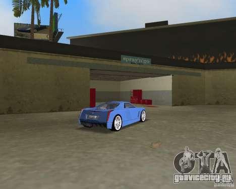 Cadillac Cien для GTA Vice City вид сзади