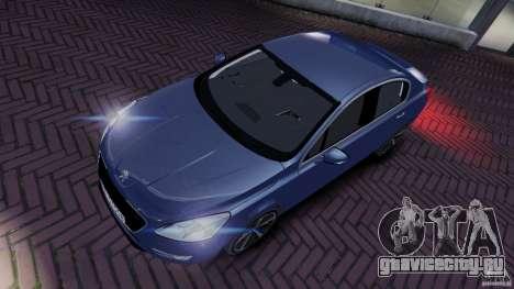 Peugeot 508 Final для GTA 4 вид сзади слева