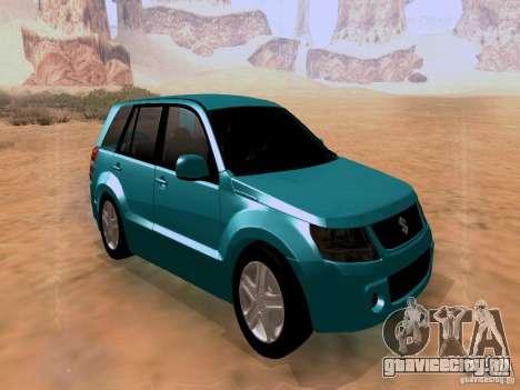 Suzuki Grand Vitara для GTA San Andreas вид справа