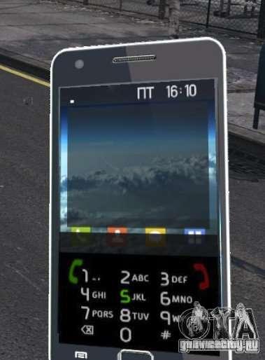 Samsung Galaxy S2 для GTA 4 четвёртый скриншот