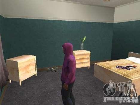 Капюшон для GTA San Andreas шестой скриншот