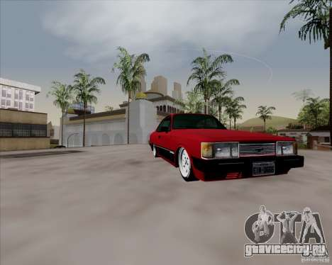 Chevrolet Opala Diplomata 1986 для GTA San Andreas вид сзади