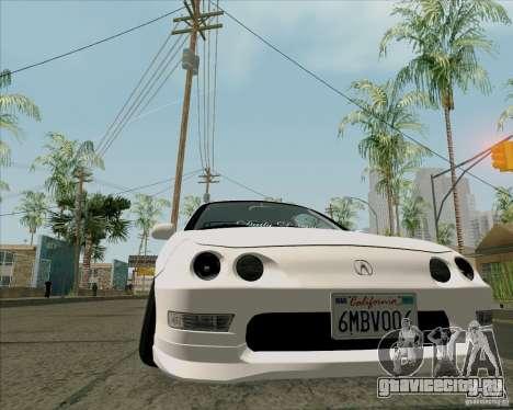 Acura Integra для GTA San Andreas вид справа