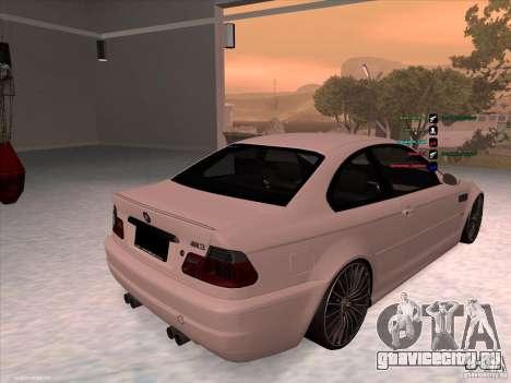 BMW M3 для GTA San Andreas вид справа