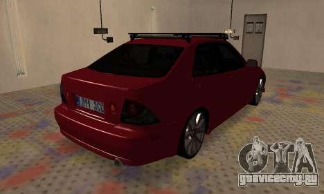 Lexus IS300 для GTA San Andreas вид слева