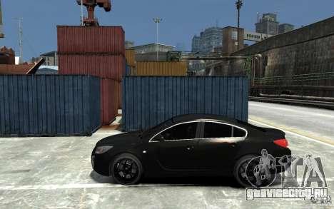Opel Insignia OPC BETA для GTA 4 вид слева