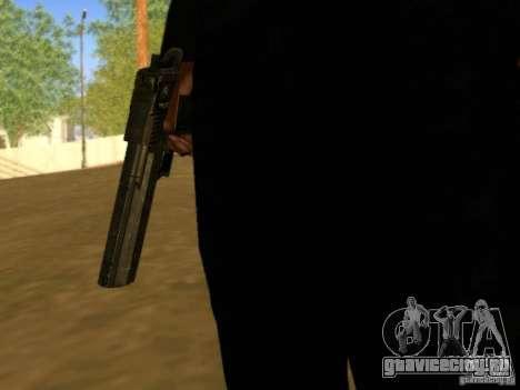 Desert Eagle MW3 для GTA San Andreas четвёртый скриншот
