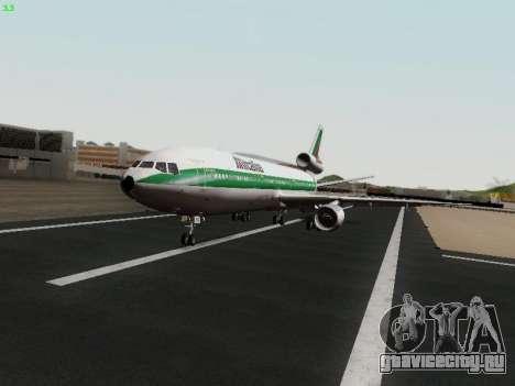 McDonell Douglas DC-10-30 Alitalia для GTA San Andreas вид сзади