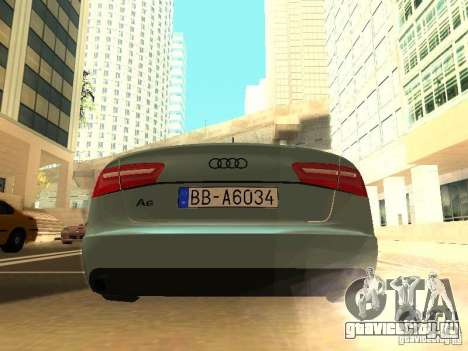 Audi A6 Stanced для GTA San Andreas вид справа