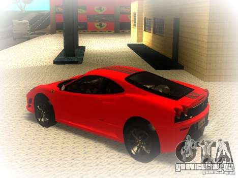 Ferrari 430 Scuderia TT Black Revel для GTA San Andreas вид слева