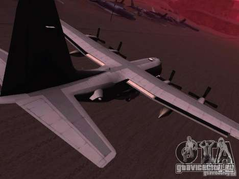 AC-130 Spooky II для GTA San Andreas вид слева