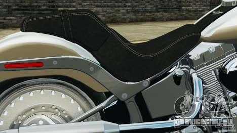 Harley Davidson Softail Fat Boy 2013 v1.0 для GTA 4 вид сбоку