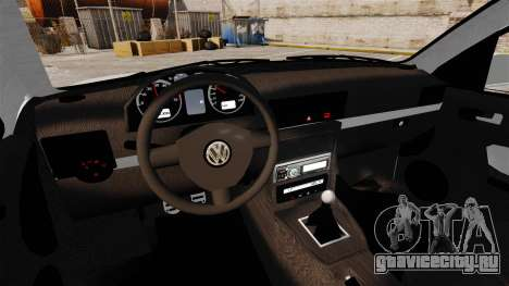 Volkswagen Golf Flash Edit для GTA 4 вид изнутри