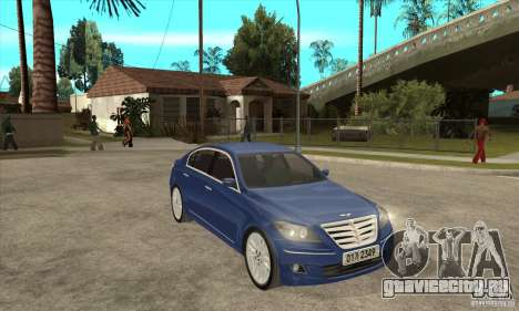 Hyundai Genesis для GTA San Andreas вид справа