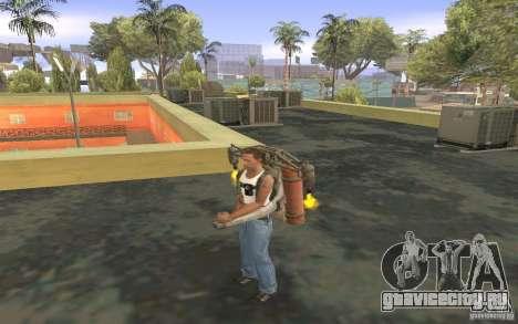 Джетпак в стиле СССР для GTA San Andreas шестой скриншот