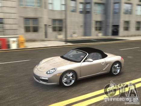 Porsche Boxster S 2010 EPM для GTA 4 вид справа