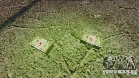 Денежные купюры США номиналом 1$ для GTA 4 второй скриншот