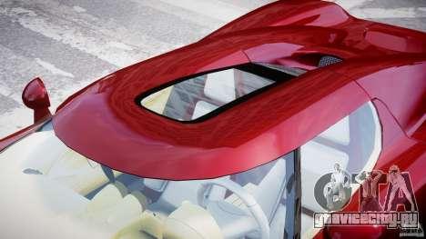 Koenigsegg CCRT для GTA 4 вид снизу
