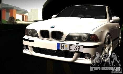 BMW M5 E39 для GTA San Andreas