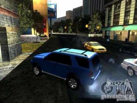 Toyota 4Runner 2009 для GTA San Andreas вид слева