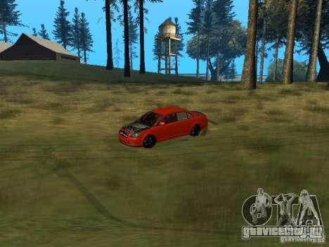 Toyota Avensis TRD Tuning для GTA San Andreas вид изнутри