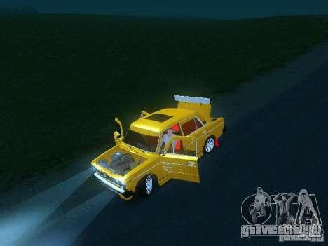 ВАЗ 2106 SPARKO для GTA San Andreas вид сбоку