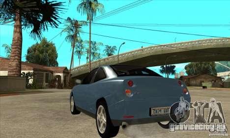 Fiat Coupe - Stock для GTA San Andreas вид сзади слева