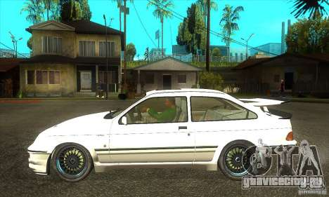 Ford Sierra RS500 Cosworth 1987 для GTA San Andreas вид справа
