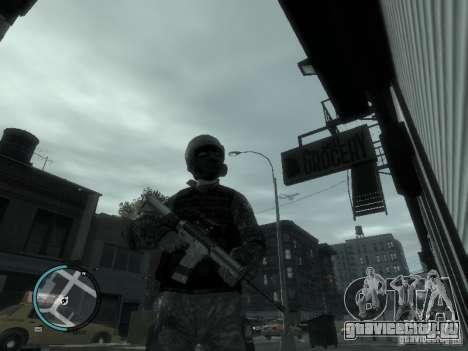 М4А1 для GTA 4 третий скриншот