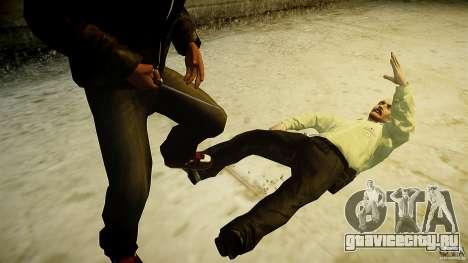 B.A.K. Knife для GTA 4 пятый скриншот