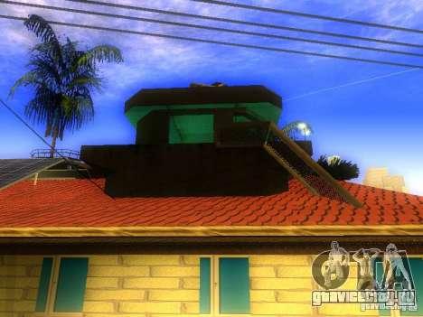 База Гроув стрит для GTA San Andreas одинадцатый скриншот