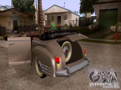 ЗиС-110Б Фаэтон для GTA San Andreas вид изнутри