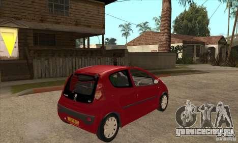 Peugeot 107 для GTA San Andreas