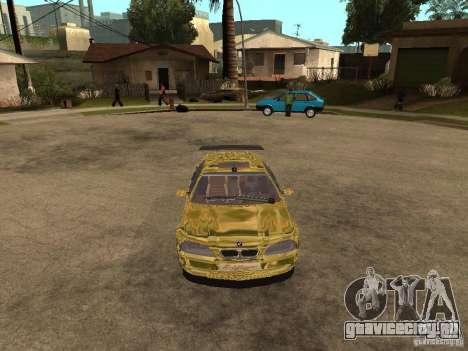BMW M3 Goldfinger для GTA San Andreas вид справа