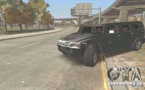 Hummer H2 Stock для GTA San Andreas