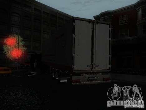 Прицеп рефрижератор для GTA San Andreas вид сзади слева