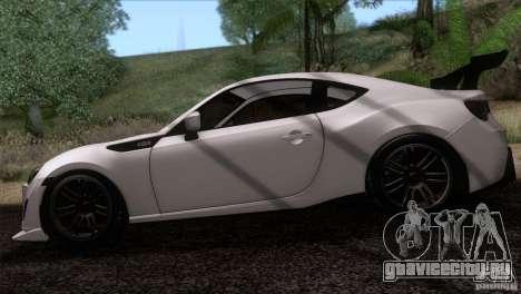 Scion FR-S 2013 для GTA San Andreas вид сзади слева