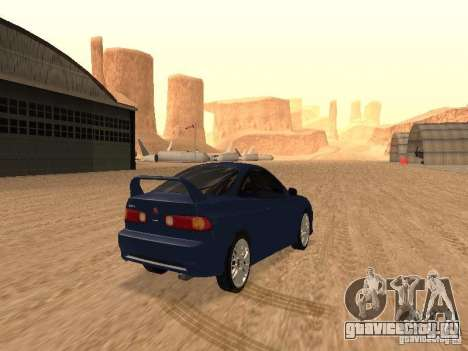 Acura RSX Light Tuning для GTA San Andreas вид справа