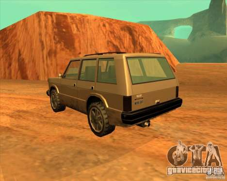 Huntley 1987 San Andreas Stories для GTA San Andreas вид слева
