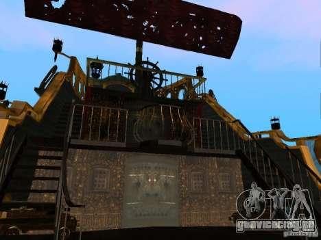 Queen Annes Revenge для GTA San Andreas вид сзади