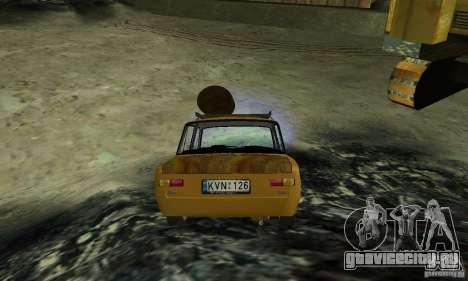 ВАЗ 2101 RAT LOOK для GTA San Andreas вид слева