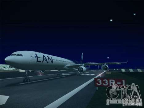 Airbus A340-600 LAN Airlines для GTA San Andreas