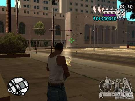 HUD by Hot Shot v.2 для GTA San Andreas