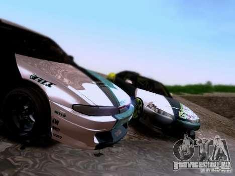 Nissan Silvia S14 Matt Powers v4 2012 для GTA San Andreas вид сбоку