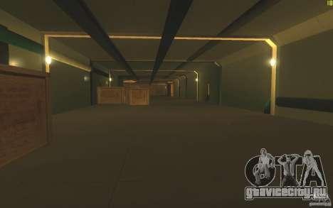 Авианосец V2 Final для GTA San Andreas четвёртый скриншот
