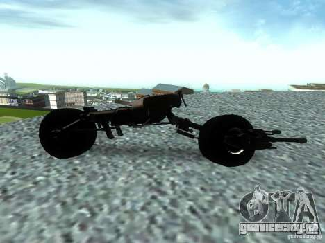 Batpod для GTA San Andreas вид слева