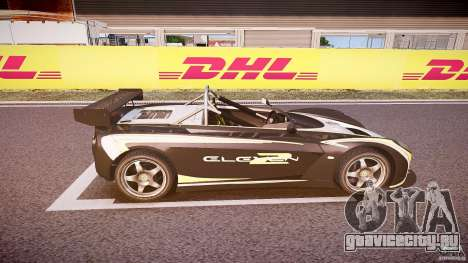 Lotus 2-11 для GTA 4 вид сверху